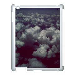 Through The Evening Clouds Apple iPad 3/4 Case (White)