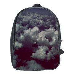 Through The Evening Clouds School Bag (XL)