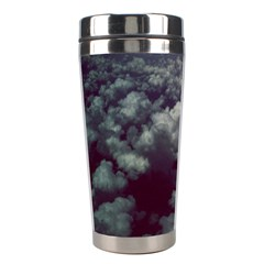 Through The Evening Clouds Stainless Steel Travel Tumbler