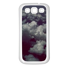 Through The Evening Clouds Samsung Galaxy S3 Back Case (white)