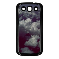 Through The Evening Clouds Samsung Galaxy S3 Back Case (Black)