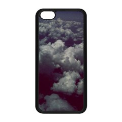 Through The Evening Clouds Apple Iphone 5c Seamless Case (black)