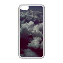 Through The Evening Clouds Apple Iphone 5c Seamless Case (white)