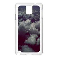 Through The Evening Clouds Samsung Galaxy Note 3 N9005 Case (White)