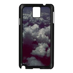 Through The Evening Clouds Samsung Galaxy Note 3 N9005 Case (black)