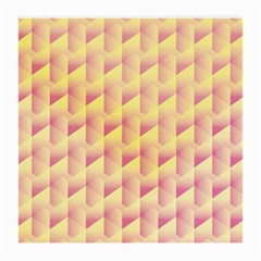Geometric Pink & Yellow  Glasses Cloth (Medium)