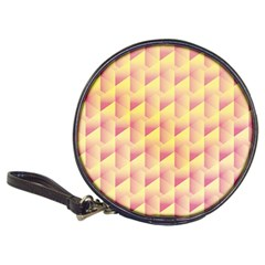 Geometric Pink & Yellow  Cd Wallet