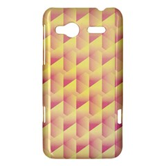Geometric Pink & Yellow  HTC Radar Hardshell Case