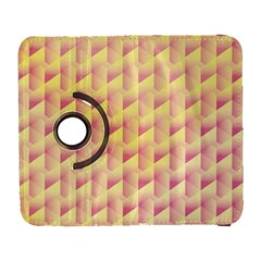 Geometric Pink & Yellow  Samsung Galaxy S  Iii Flip 360 Case