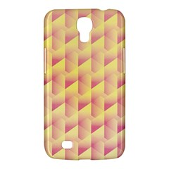 Geometric Pink & Yellow  Samsung Galaxy Mega 6.3  I9200 Hardshell Case