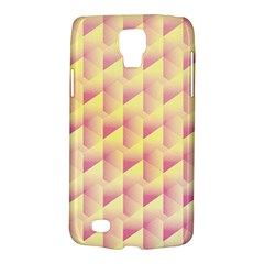 Geometric Pink & Yellow  Samsung Galaxy S4 Active (I9295) Hardshell Case