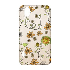 Yellow Whimsical Flowers  LG Optimus P970 Hardshell Case