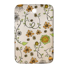 Yellow Whimsical Flowers  Samsung Galaxy Note 8.0 N5100 Hardshell Case