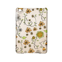 Yellow Whimsical Flowers  Apple iPad Mini 2 Hardshell Case