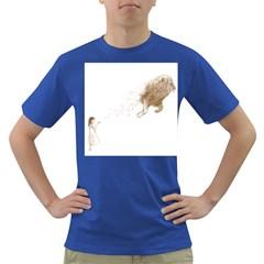 Sandy The Lion Men s T Shirt (colored)