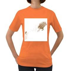 Sandy the Lion Women s T-shirt (Colored)