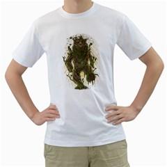 Treebear Men s T-Shirt (White)