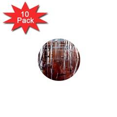Automn Swamp 1  Mini Button Magnet (10 pack)