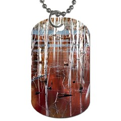 Automn Swamp Dog Tag (One Sided)