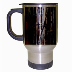 Automn Swamp Travel Mug (Silver Gray)