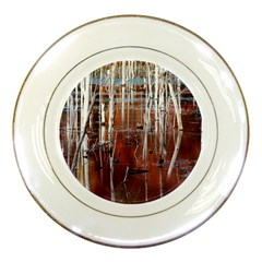 Automn Swamp Porcelain Display Plate