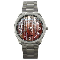 Automn Swamp Sport Metal Watch