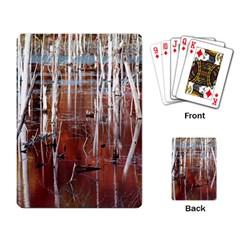 Automn Swamp Playing Cards Single Design