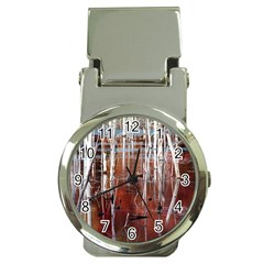 Automn Swamp Money Clip With Watch