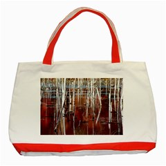 Automn Swamp Classic Tote Bag (Red)