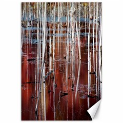 Automn Swamp Canvas 12  x 18  (Unframed)