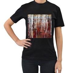 Automn Swamp Women s T-shirt (Black)