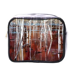 Automn Swamp Mini Travel Toiletry Bag (one Side)