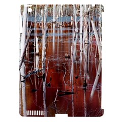 Automn Swamp Apple iPad 3/4 Hardshell Case (Compatible with Smart Cover)