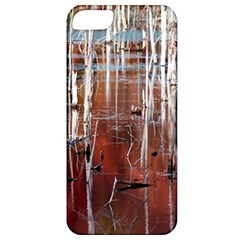 Automn Swamp Apple Iphone 5 Classic Hardshell Case