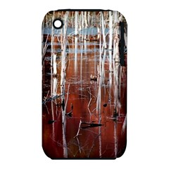 Automn Swamp Apple iPhone 3G/3GS Hardshell Case (PC+Silicone)