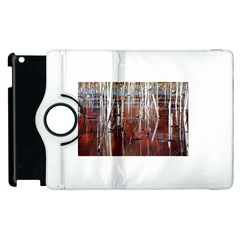 Automn Swamp Apple iPad 2 Flip 360 Case