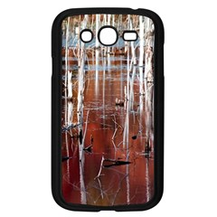 Automn Swamp Samsung Galaxy Grand DUOS I9082 Case (Black)
