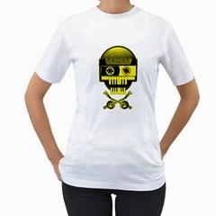 Classy DJ Women s T-Shirt (White)