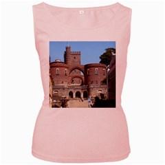 Helsingborg Castle Women s Tank Top (Pink)