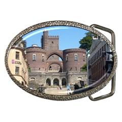 Helsingborg Castle Belt Buckle (oval)
