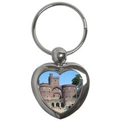 Helsingborg Castle Key Chain (heart)
