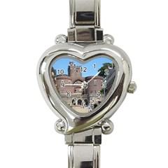 Helsingborg Castle Heart Italian Charm Watch