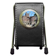 Helsingborg Castle Stationery Holder Clock