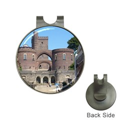 Helsingborg Castle Hat Clip with Golf Ball Marker