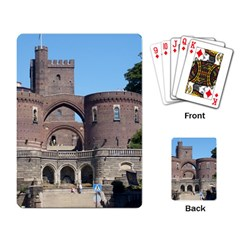 Helsingborg Castle Playing Cards Single Design