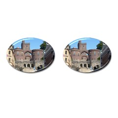 Helsingborg Castle Cufflinks (Oval)
