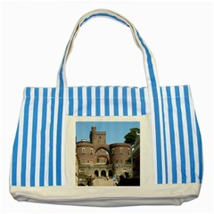 Helsingborg Castle Blue Striped Tote Bag