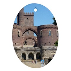 Helsingborg Castle Oval Ornament (Two Sides)