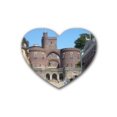 Helsingborg Castle Drink Coasters 4 Pack (Heart)