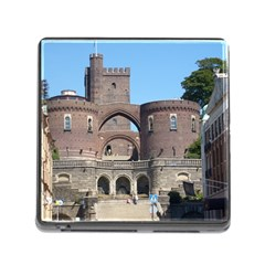 Helsingborg Castle Memory Card Reader With Storage (square)
